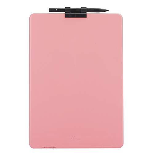 Tableta de Escritura, Tablero de Dibujo LCD de 10 Pulgadas de energía lumínica Tablero electrónico de Doodle de Alto Brillo para niños Juguetes para Regalos para la Oficina de la Escuela en(Pink)