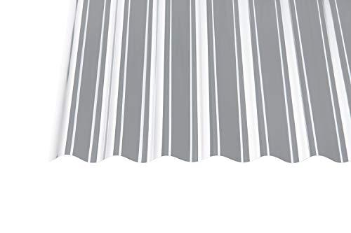 Polycarbonat Wellplatten Profilplatten Sinus 76/18 klar ohne Struktur (3000 x 1040 mm)