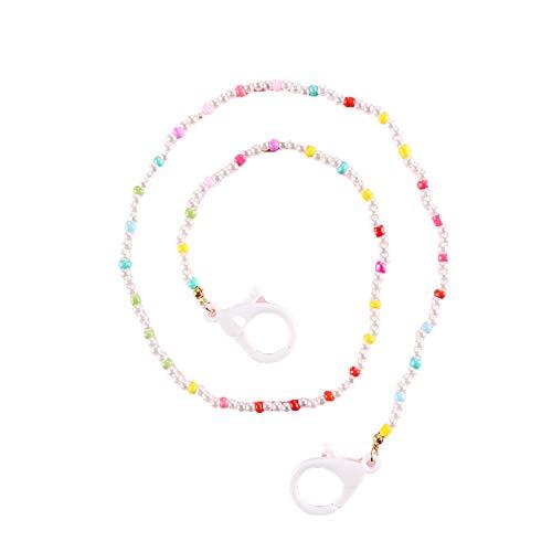 Lanyards Cadena de cuentas de 59 cm para collares largos cadena ajustable gafas de sol cordón