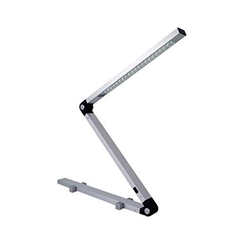 JNS Nachtgegenlicht/LED Tischleuchte, Modern Minimalist Augenschutz Schreibtisch Büro Studie Tischlampe Computer-Tabelle Kreative Tischlampe Aluminium-Legierung Folding/Nachtleselampe