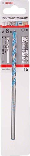 Bosch 2608596060 CYL-9 Multi Purpose Drill Bit, 6mm x 90mm x 150mm, Silver