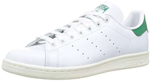 adidas Stan Smith, Scarpe da Ginnastica Uomo, Bianco (Ftwr White/off White/Bold Green Ftwr White/off White/Bold Green), 40 2/3 EU