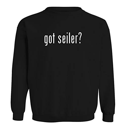 got seiler? - Men's Soft & Comfortable Long Sleeve T-Shirt, Black, X-Large