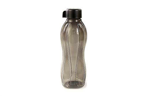 Tupperware to Go Eco 38372 - Botella ecológica (1,0 L, cierre giratorio), color negro
