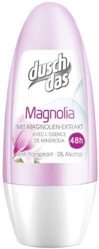 Duschdas Deo Roll on Magnolia , 6er Pack (6 x 50 ml)