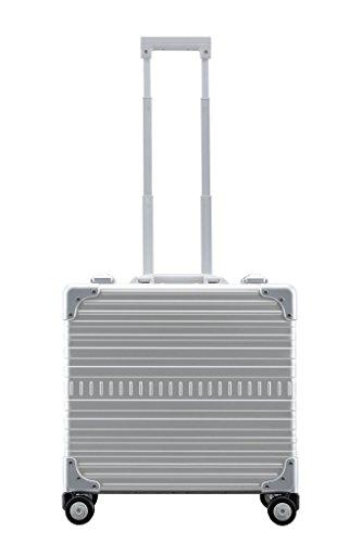 Aleon 17' Deluxe Wheeled Briefcase Platinum