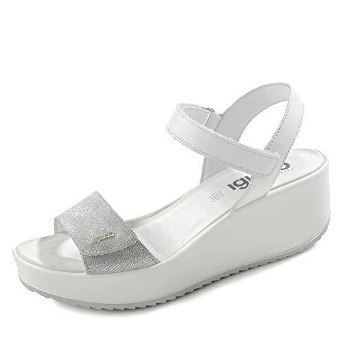 IGIECO Sandalo Donna Pelle Perla