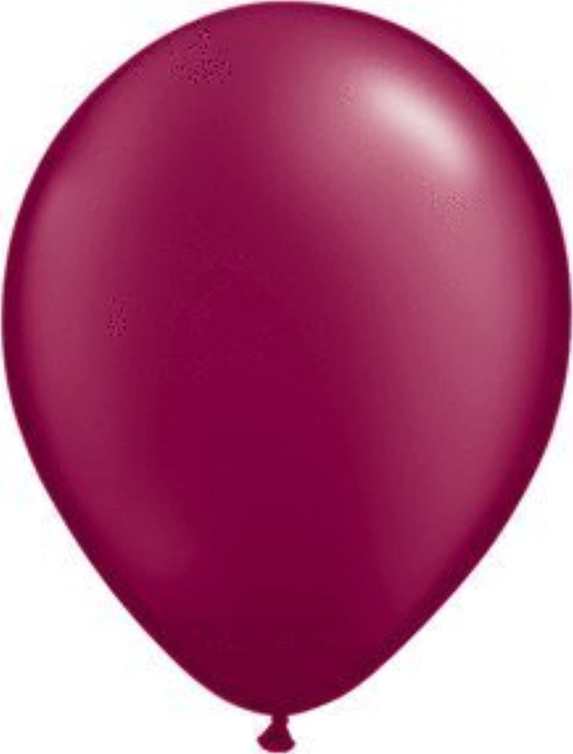 Qualatex 5 Round Balloons  Pearlized  Pack of 100 (Burgundy Pearl) by Mayflower Products