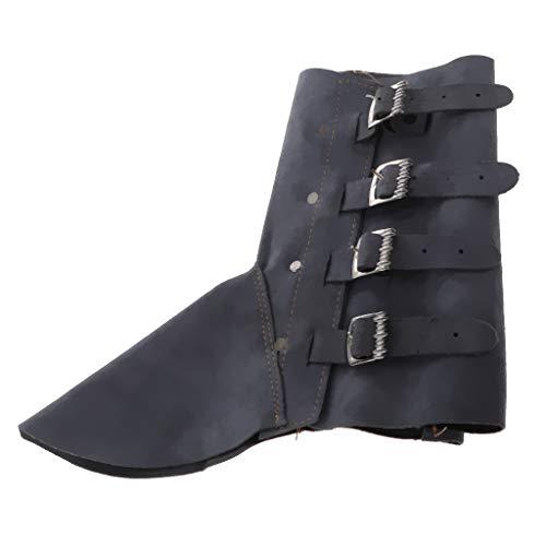 SDENSHI 1 Par de Cubierta de Zapatos de Polainas de Soldadura, Cubierta de Pies de Herramienta de Trabajo de Soldador para Humanos - Azul