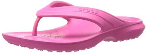 Crocs Classic Flip K Ciabatte, Unisex Bambini, Rosa (Capi), 28/29 (C11 UK)