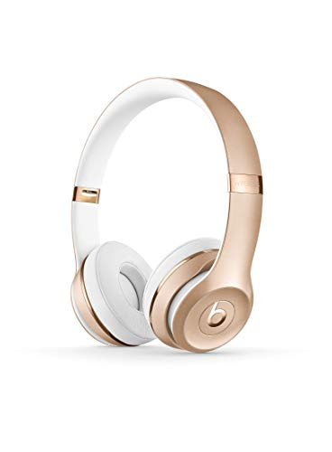 Beats Solo3 Wireless On-Ear Headphones - Apple W1 Headphone Chip, Class 1 Bluetooth, 40 Hours Of Listening Time - Gold (Previous Model)