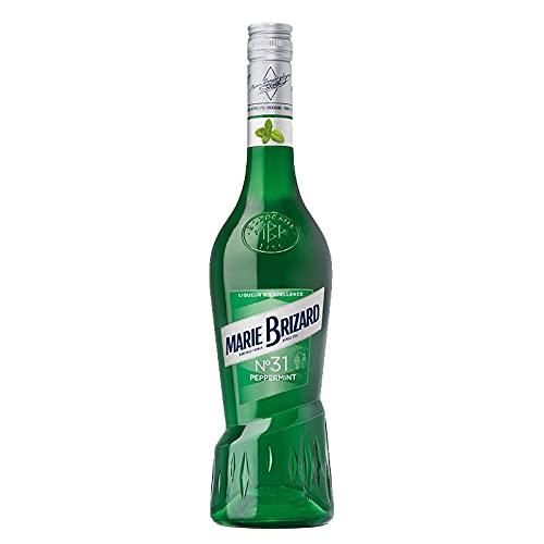 Licor Excellence Peppermint Marie Brizard de 70 cl - Elaborado en Francia - Bardinet (Pack de 1 botella)