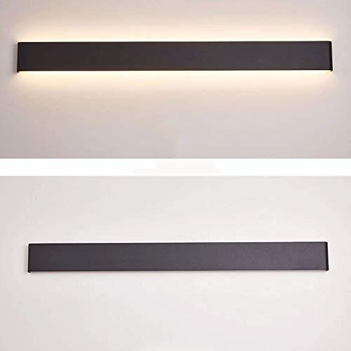 Lámpara de Pared 43.7in / 15W LED Luz de vanidad moderna Luz de pared de montaje en pared hacia arriba y hacia abajo Luz de pared interior de montaje en pared para accesorios de iluminación de baño (l