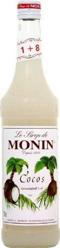 Le Sirop de Monin Cocos Kokosnuss Sirup 1l Flasche