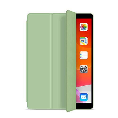 YYLKKB For 2019 iPad 10.2 iPad 7th 8th Generation Case iPad 9.7 6th Air 2 10.5 Air 3 Air 4 2020 Pro 11 10.9 Mini 4 5 Smart Cover-Light Green_iPad 10.2