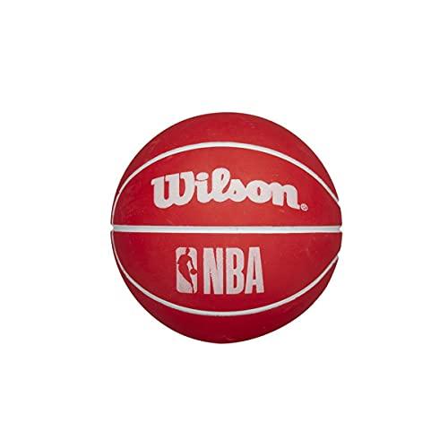 Wilson NBA Dribbler Super Mini Reacción Baloncesto Bola Rojo