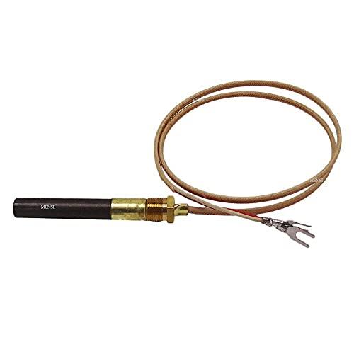 QYANGSHAN Generadores de termopila de Repuesto de milivoltios de 750 Grados utilizados en Chimenea de Gas/Calentador de Agua/termopar de Grupo de freidora de Gas