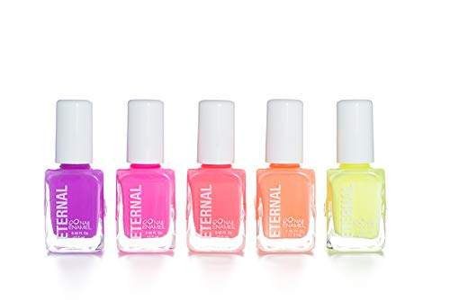 Eternal 5 Collection: Girls Just Wanna Have Neons - 5 Pieces Set: Long Lasting, Quick Dry Nail Polish