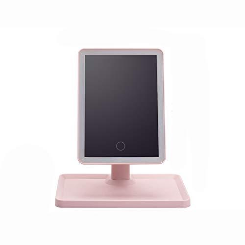 WERTDERTO Espejo Elegante de la Belleza LED Espejo de Maquillaje con lámpara...