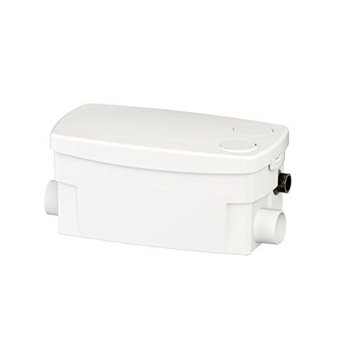 SFA SANIBROY 0016P Schmutzwasserpumpe / Haushaltspumpe SANIDOCHE+ | Kompakte Pumpe speziell für Dusche, Waschbecken und Bidet | Förderdistanz : 55x5m, Wasser 40°, 400 Watt, 220-240 Volt