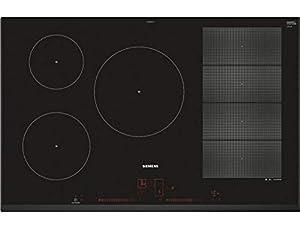 Plaque induction Siemens EX851LVC1F - Plaque de cuisson 5 dont 2 extensibles foyers
