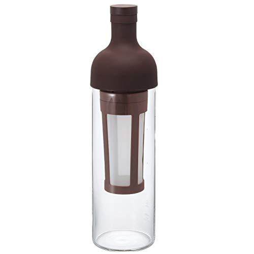 """Hario \""""Filter in Coffee Bottle\"""" Kaffeebereiter für Coldbrew / kaltgebrühten Kaffee (dunkelbraun)"""