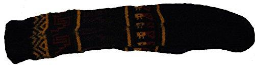 Fair Trade Unisex bolivianischen weiche Alpaka Woll Wolle Lange Socken GRÖSSE 4-9 Mann / Frau