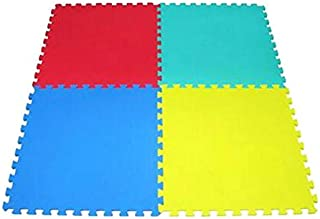 Puzzle Foam Mat 4 Piece Set 60x60x1cm