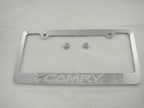 toyota camry chrome license plate - 8