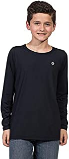 Camiseta Infantil Masculina com Proteção Solar Manga Longa Extreme UV Ice