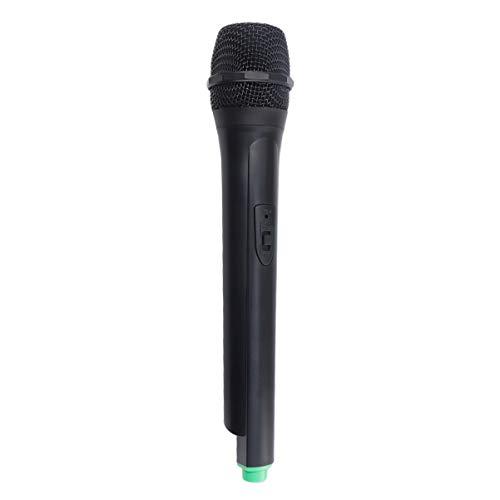 Nuobesty - Micrófono de juguete Prop 1 unidad 26. 5 x 5 cm de plástico Simulado con micrófono de simulación inalámbrico para el hogar - 81 g