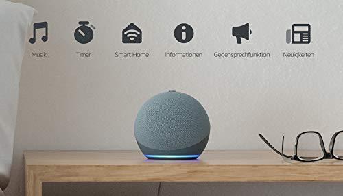 Echo Dot (4. Generation) | Smarter Lautsprecher mit Alexa | Blaugrau