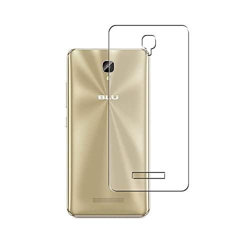 Vaxson 2 Stück Rückseite Schutzfolie, kompatibel mit BLU Vivo XL2 / XL 2 2017, Backcover Skin TPU Folie [nicht Panzerglas/nicht Front Bildschirmschutzfolie]