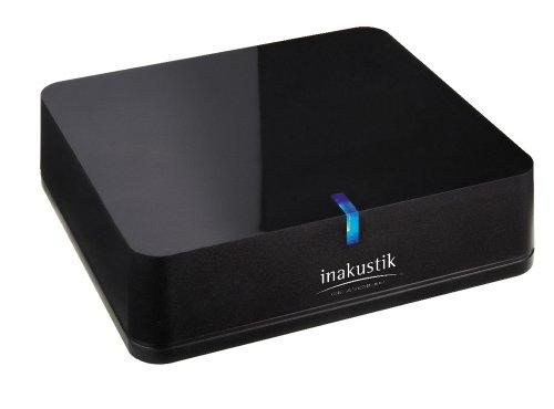 inakustik – 00415003 – Bluetooth Audio Receiver | Für die kabellose Musikwiedergabe vom Smartphone/Tablet über die HiFi Anlage | 1 STK | Dank aptX-Technologie in CD-Qualität - Inkl. optischem Ausgang