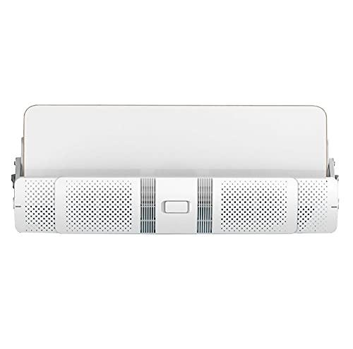 X-Toy Deflettore del condizionatore d'Aria, Filtro Multistrato Aria condizionata Scudo Eolico Impedisci Che soffia Dritto, Bianco