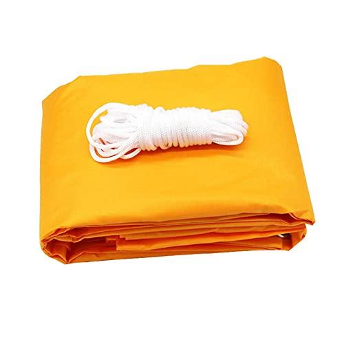 XQKXHZ Vela De Sombra, Vela De Sombra Rectangular Protección Rayos UV, Toldo Resistente E Impermeable, para Patio Exteriores Jardín (2x1.8m/6.6 'x 5.9'),Dark Yellow