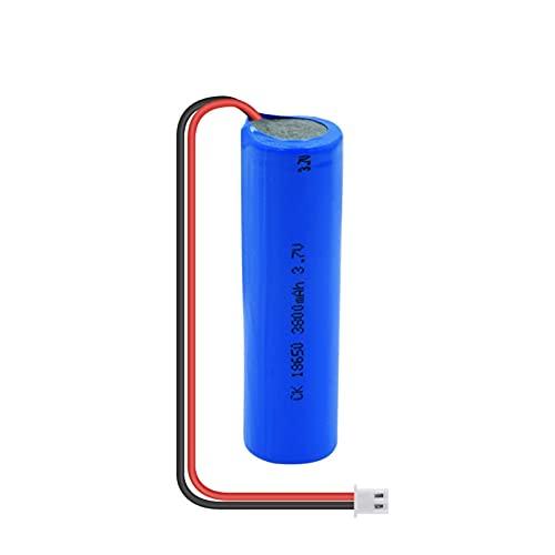 HTRN 3.7v 3800mah 18650 Batería Ni-Mh, Batería Recargable con Enchufe Xh-2p + Cable DIY Adecuado para Luces Led De Coche 1PCS
