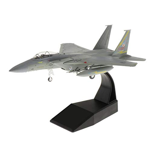 sharprepublic 3D F-15 Eagle Fighter Aircraft Model 1: 100 Scale Avión Juguete Militar Regalo