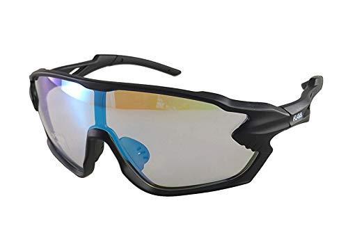 Alpland Gafas de sol deportivas polarizadas, contrastantes (cristal transparente + refuerzo de contraste)