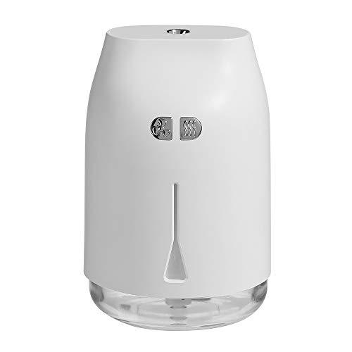 U-clip Luchtbevochtiger Usb Mini Drie-in-één Ventilator Nachtlampje Auto Thuis Desktop Creatieve producten 3 kleuren