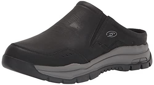 Dr. Scholl's Shoes Men's Vapor Clog, Black, 10.5