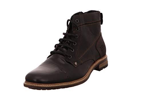 BULLBOXER heren laarzen 870-K5-5872A-MCKB zwart 332999
