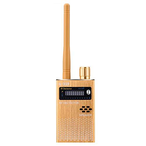 Detector de señal de la señal inalámbrica Rastreador dispositivo de escucha Detector anti espía para Eavesdropping cámara estenopeica G319 Escuchar Buscador de dispositivos