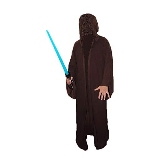 Unbekannt Deluxe Jedi Bademantel für Erwachsene, Braun