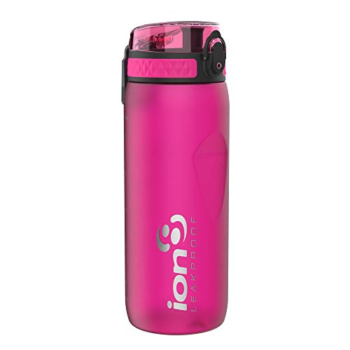 Ion8 Botella Agua Deportiva Sin Fugas, Sin BPA, 750ml