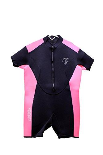 Women's Shorty Wetsuit - Front Zip - 2400 (Large)