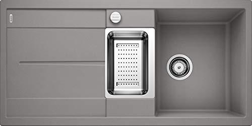 Blanco Küchespüle Metra (60 cm Unterschrank), alumetallic, 513045