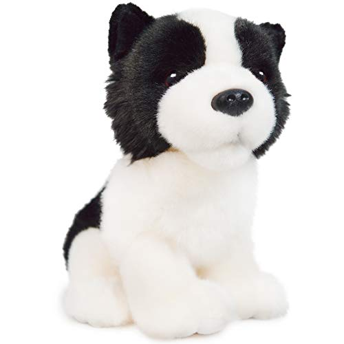 Byron The Border Collie - 7 Inch Stuffed Animal Plush - by Tiger Tale Toys