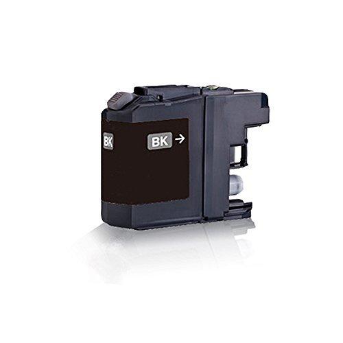 1x kompatible Tintenpatrone für Brother Black - Schwarz LC121 LC123 MFC J245 MFC J4310 DW MFC J4410 DW MFC J4510 DW MFC J4610 DW MFC J4710 DW MFC J6520 DW MFC J6720 DW - Eco Office Serie