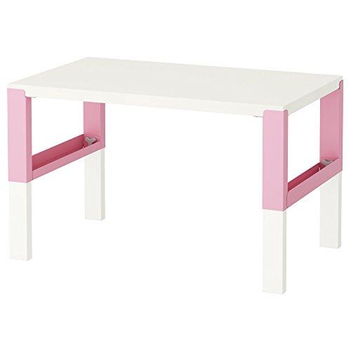 ZigZag Trading Ltd IKEA PAHL Schreibtisch weiß/rosa